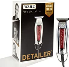 Wahl Professional Series Detailer #8081 - With Adjustable T-Blade, 3 Trimming Guides (1/16