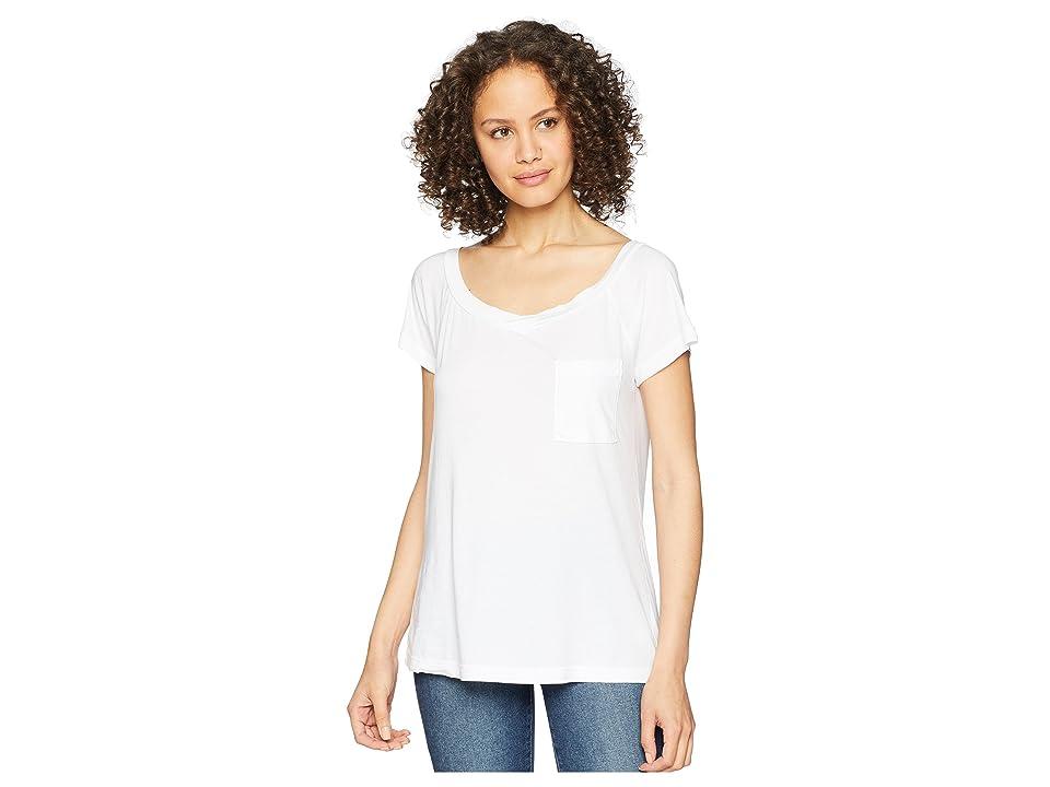 LAmade Ames Tee (White) Women's T Shirt
