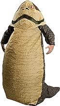 Jabba The Hut Inflatable Adult Costume - Standard Beige/Black