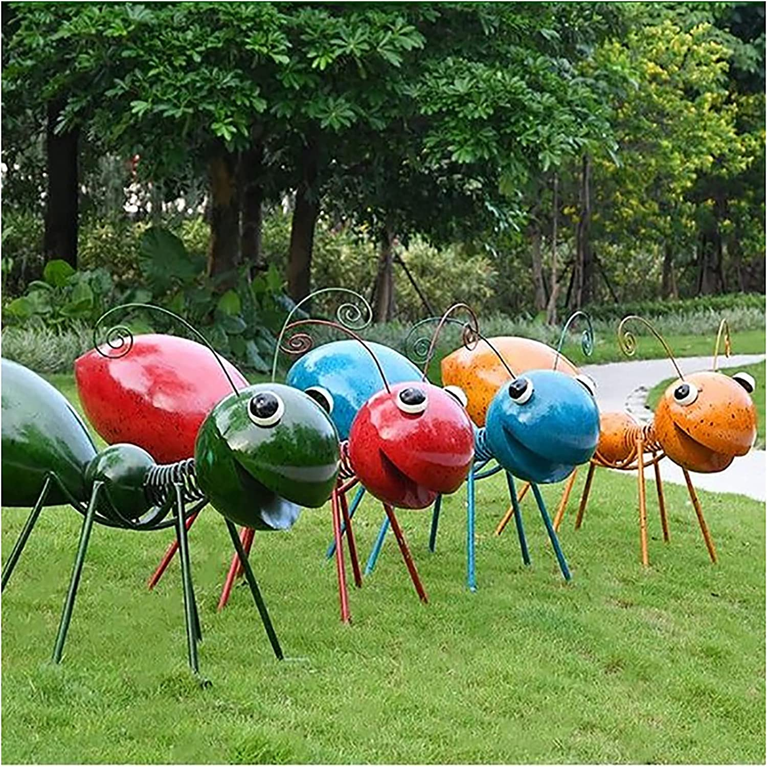 LEFUYAN Garden It is very popular Yard Decoration Ant Head with Vivid quality assurance Outdo Shaking