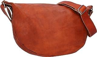 Gusti Handtasche Leder - Anna Umhängetasche Ledertasche Vintage Braun Leder