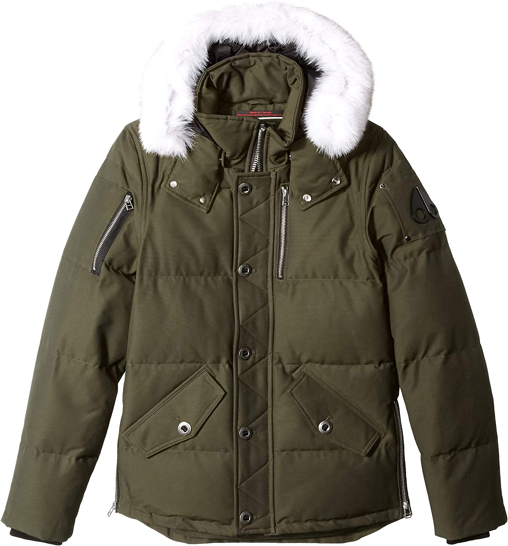 Moose Knuckles Men's sale Omaha Mall 3 4 3q Length Jacket Down