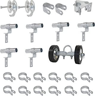 Fence Rolling Gate Hardware Kit - Residential - Chain Link Parts