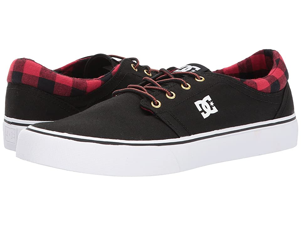 DC Trase TX SE (Black Buffalo Plaid) Men