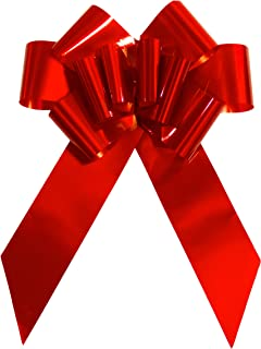 "Giant Red Bow for Cars 23"" Perfect on a New Car Big Bows Tie, for Birthday Gifts on Graduation Gifts, New Houses, Christmas Presents. A Multipurpose Bow for Many Surprises."