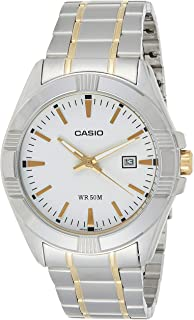 Casio Men's Analog Two Tone Dress Watch [MTP-1308SG-7A]