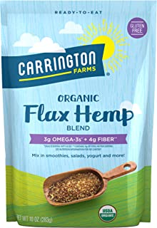 Carrington Farms Organic Flax Hemp Blend, Gluten Free, USDA Organic, 10 Ounce