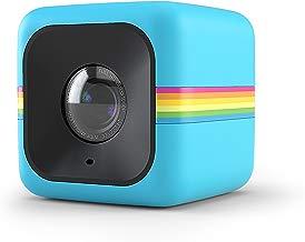 Polaroid Cube+ Minicámara de acción de estilo de vida de 1440p con Wi-Fi y estabilización de imagen (azul)