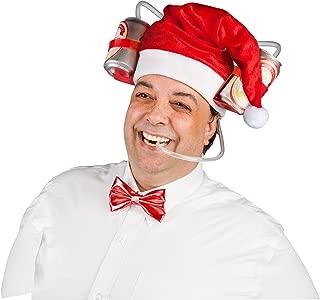 BigMouth Inc Santa's Holiday Drinking Hat