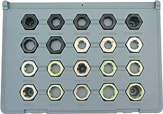 Lang Tools (2599) 20-Pc. Spindle Thread Restorer Die Set