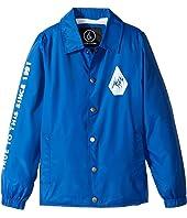 Volcom Kids - Brews Coach Jacket (Big Kids)