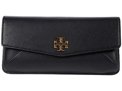 Tory Burch Kira Clutch (Black) Handbags