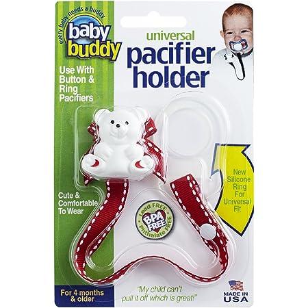 Universal Buccaneers Baby Pacifier Clip