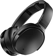 Skullcandy Venue Active Noise Cancelling Headphones, Over The Ear Bluetooth Wireless, Tile Integration, Rapid Charge 24-Hour Battery Life, Lightweight Premium Materials, Black