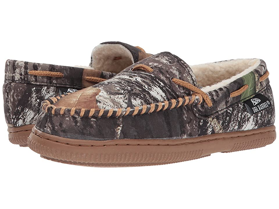 M&F Western Kids Moccasin Slippers (Toddler/Little Kid/Big Kid) (Mossy Oak Camo/Tan) Boys Shoes