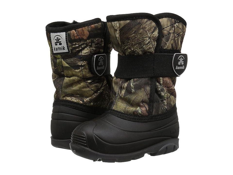 Kamik Kids Snowbug 4 (Toddler) (Mossy Oak Country Camo) Boys Shoes