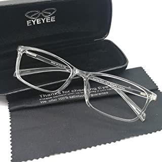 Computer Reading Glasses Blue Light Blocking - Reader Eyeglasses Anti Glare Eye Strain Light Weight for Women Men