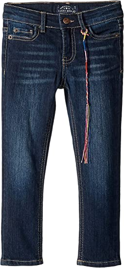 Zoe Five-Pocket Skinny Jeans in Barrier Wash (Toddler)