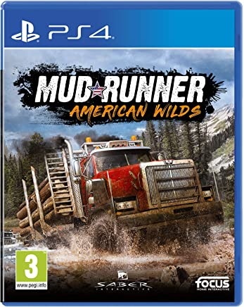 (PlayStation4) - Spintires: MudRunner - American Wilds Edition (PS4)