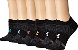 Essential 2.0 No Show Socks 6-Pair