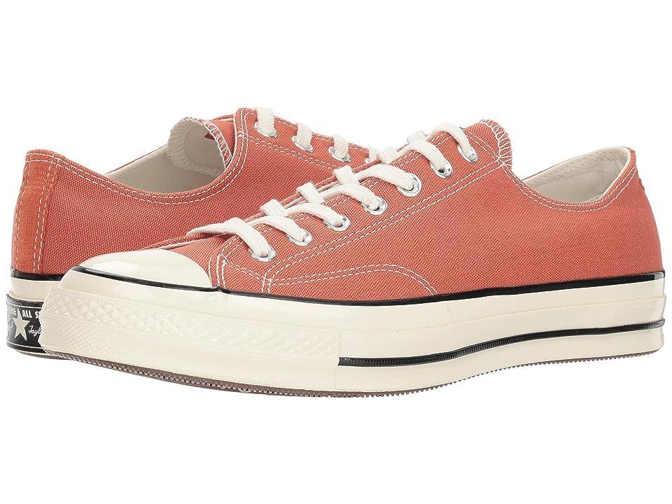Converse Chuck 70 Sunbleached Asphalt Ox (Terracotta Red/Black/Egret) Shoes