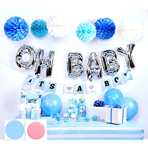 Baby Boy Baby Shower Decorations Amazon Com