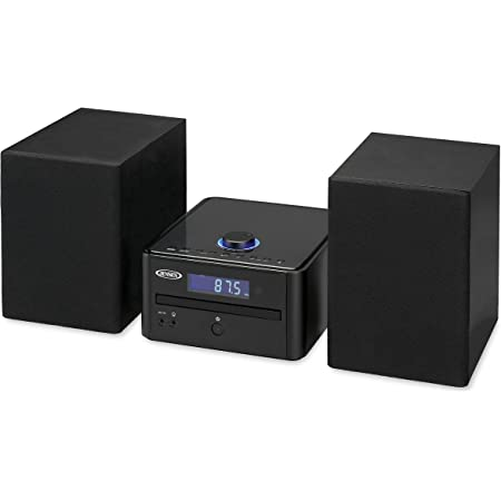JENSEN JBS-210 Bluetooth CD Music System with Digital AM/FM Stereo Receiver and Remote Control