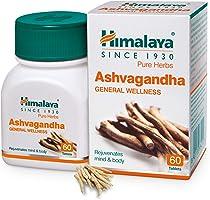 Himalaya Ashvagandha - General Wellness Tablets, 60 Tablets | Stress Relief | Rejuvenates Mind & Body