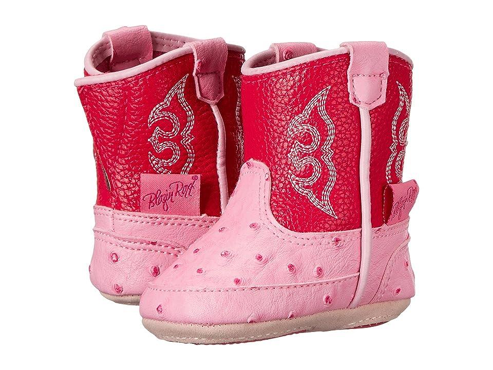 M&F Western Kids Baby Bucker Kinsley (Infant/Toddler) (Pink) Cowboy Boots
