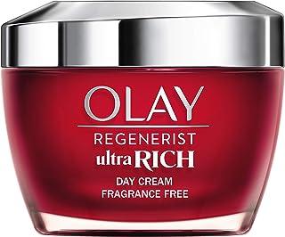 Olay Regenerist Ultra Rich Crema De Día Textura Rica No Grasa Con Vitamina B3 Péptidos Y Manteca De Karité Sin Perfume...