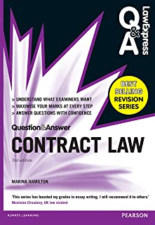 Law Express Question and Answer: Contract Law (Q&A revision guide) (Law Express Questions & Answers)