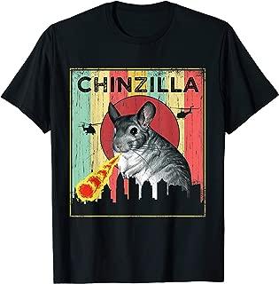 Vintage Chinchilla Laser Eye Halloween Costume T-Shirt