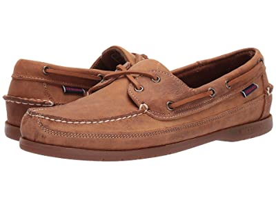 Sebago Schooner Crazy Horse (Brown Tan) Men