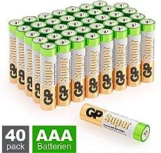 GP Batterien AAA (Micro, LR03) 1.5V, 40 Stück Vorratspack, Super Alkaline Longlife Technologie, 40 Stück Vorratspack