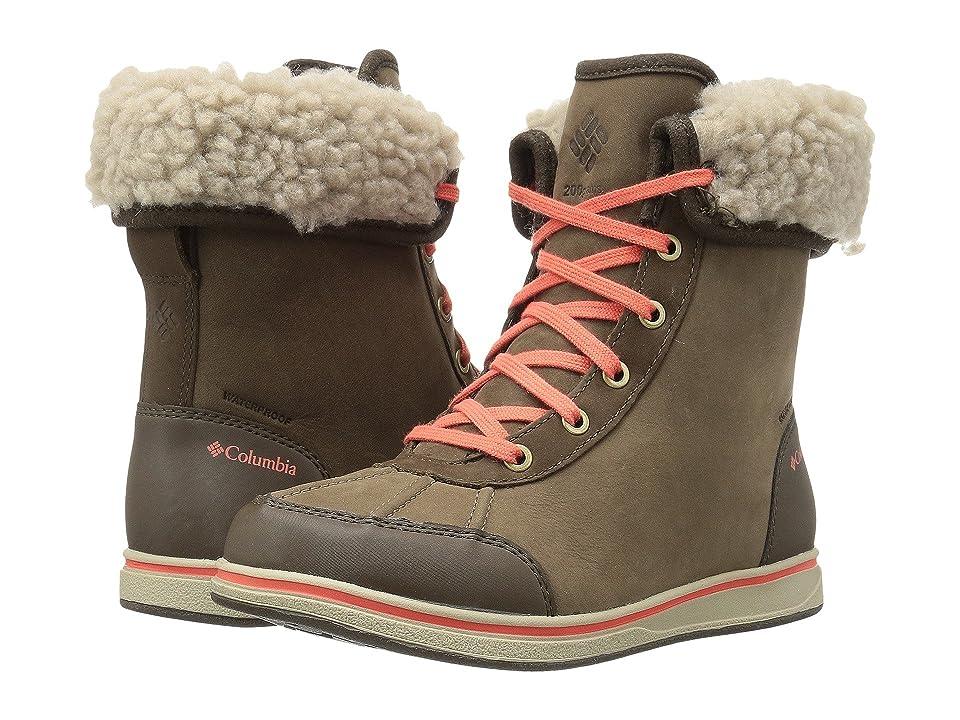 Columbia Kids Bangor (Little Kid/Big Kid) (Mud/Coverage) Girls Shoes