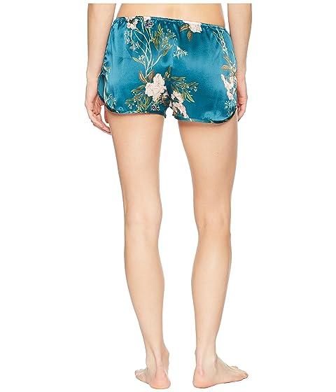 Everly Floral Du Maison Soir Teal Shorts 8x4xEn7XT