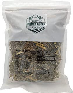 Farmer Queen dried Sweet Wormwood / Artemisia Annua (Product of Korea, Dried Loose Leaves 4oz)