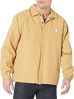 OBEY CLOTHING Men's ICON COACHES JACKET, Almond, Medium