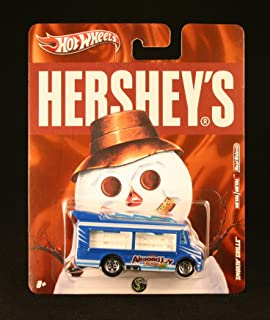 Hot Wheels SMOKIN' GRILLE ALMOND JOY Hershey's 2011 Nostalgia Series 1:64 Scale Die-Cast Vehicle