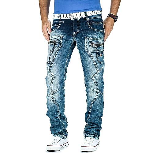 Cipo   Baxx Herren Jeans Dicke Naht Streetwear b70fd174a2