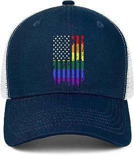 pride flag hat