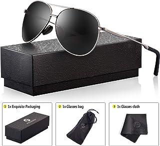 77294fa874 Polarized Aviator Sunglasses for Men - Feirdio Metal Frame Sports UV 400  Protection Mens Unisex.