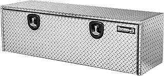 Buyers Products 1705115 Diamond Tread Aluminum Underbody Truck Box w/ T-Handle Latch (18x18x60 Inch) , Silver