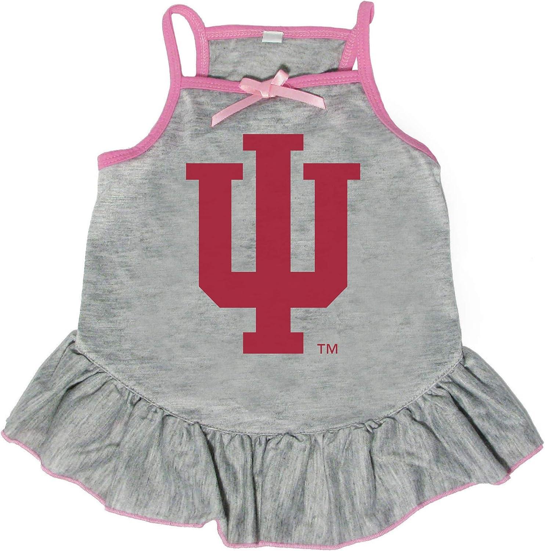 Littlearth 2021 model NCAA Indiana Hoosiers Dress Pet Medium It is very popular