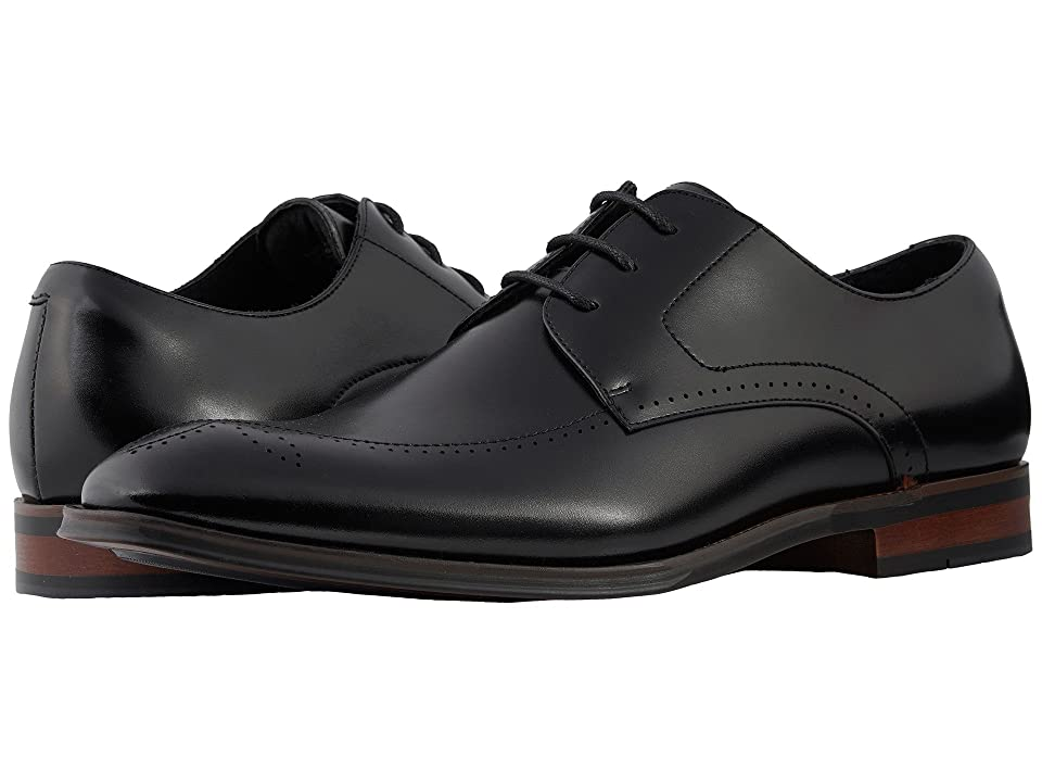 Stacy Adams Ballard Plain Toe Lace Up Oxford (Black) Men