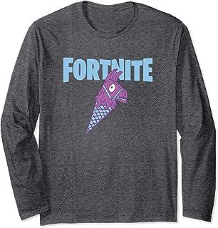 Fortnite Llama Cone Fortnite Logo Manga Larga