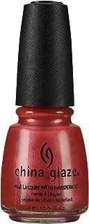 China Glaze Nail Polish, Coral Star, 0.5 Fluid Ounce