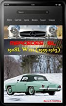 Mercedes-Benz, The SL story, 190SL W121 with buyer's guide and chassis number, data card explanations: The 190SL history  with superb recent color photos