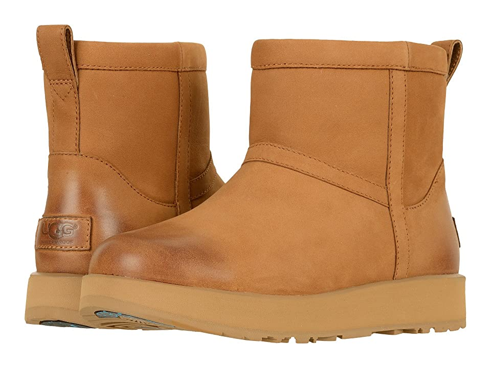 UGG Classic Mini L Waterproof (Chestnut) Women