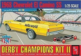 AMT AMT1018 1:25 Scale 1968 El Camino SS with Bonus soap Box Derby Car Model Kit